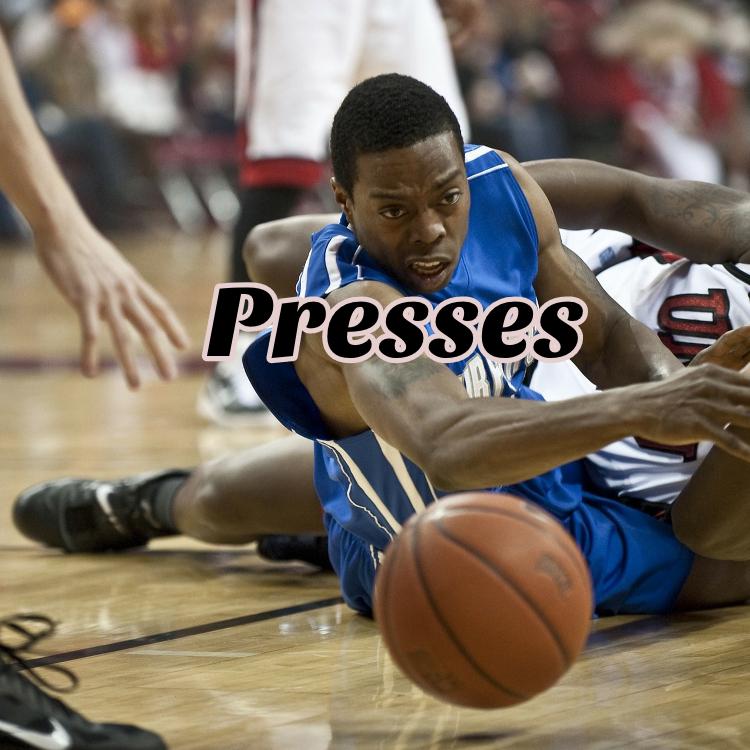 Basketball Full Court Presses