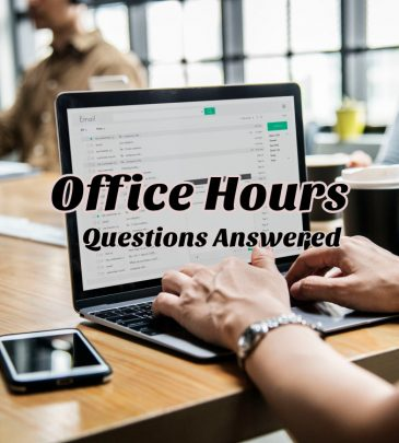 Office Hours and One on One Calls