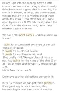Aseem Rastogi 100 point game