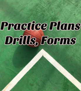 Practice Plans/ Forms/ Drills