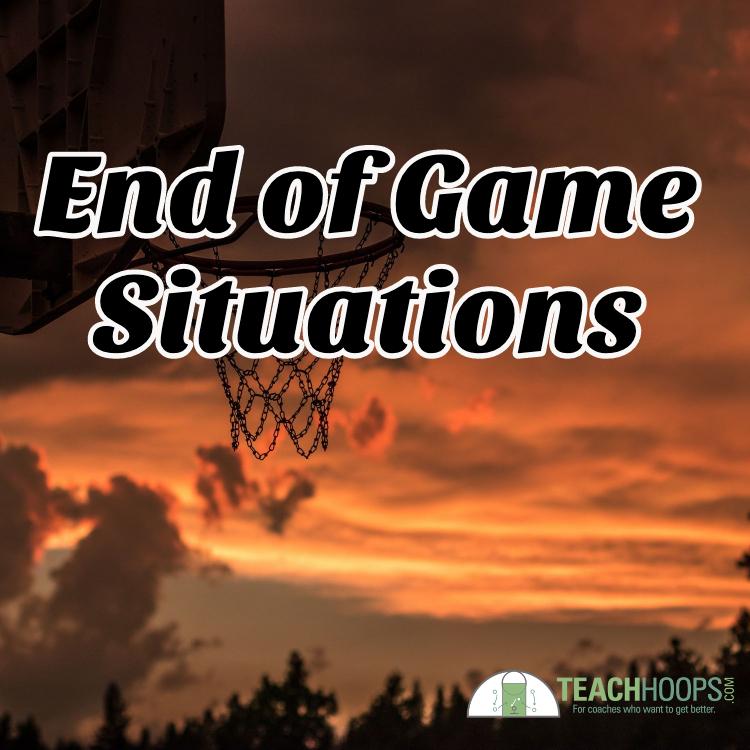 Basketball end of game situation