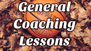 General Coaching Lessons