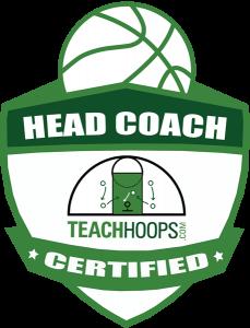 TEACH HOOPS Head Coach CERTIFIED