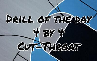 4-on-4 Cut Throat Basketball Practice Progression