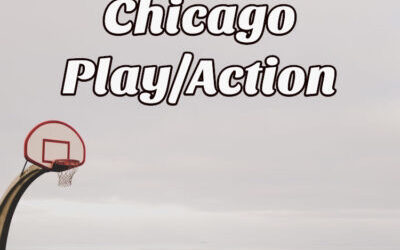 Chicago Action Basketball Offensive Set