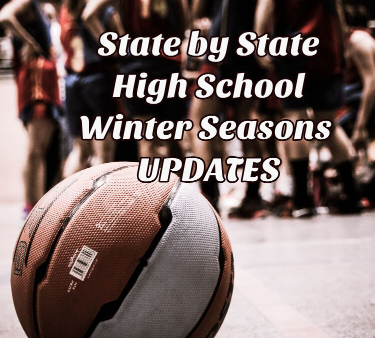 Basketball winter sports seasons covid high school