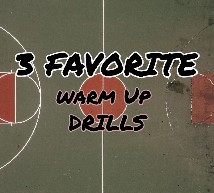 3 Favorite Basketball Warm up / Practice Drills by Coach Steger