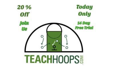 Teach Hoops Deals September 5th!